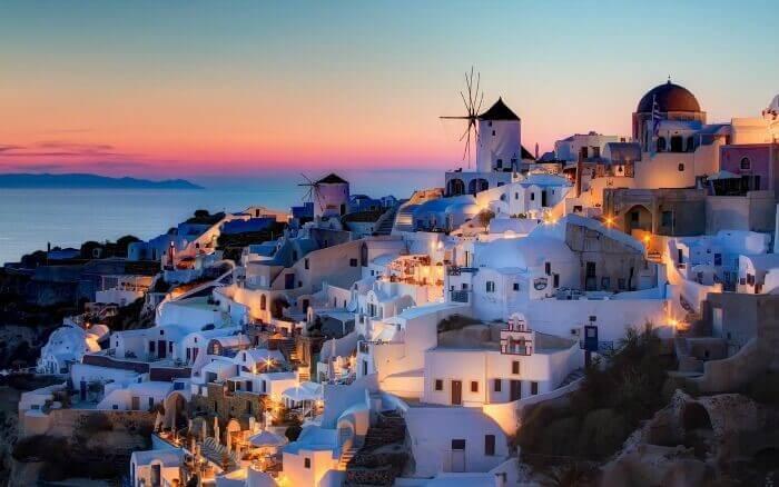 Отдых в Греции февраль