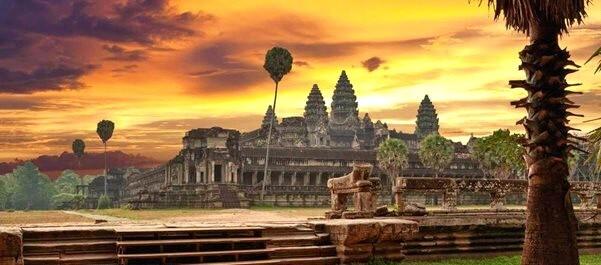 Камбоджа отдых в январе