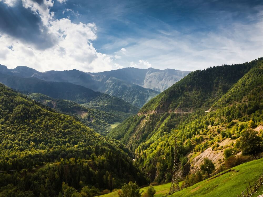 Грузия отдых летом