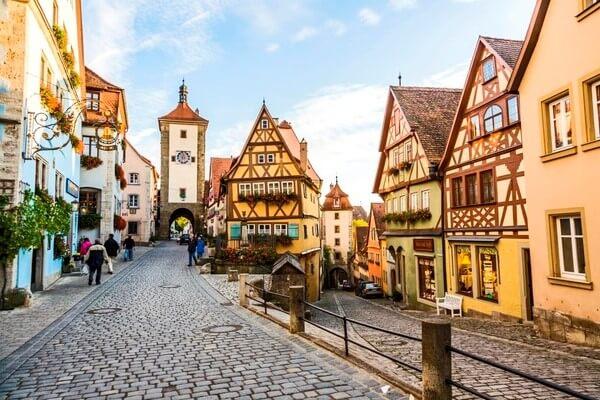 Германия отдых в июне