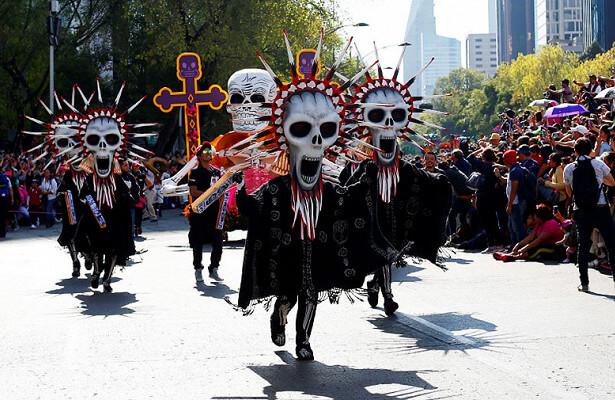 День смерти Мексика октябрь
