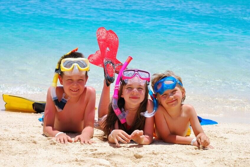 отдых с детьми на море в украине
