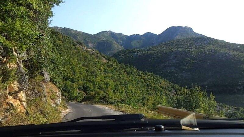 Горные дороги Черногория